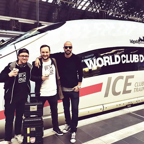 World Club Dome ICE: with 320km/h from Paris to Frankfurt - nearly as fast as the beats of FXMO