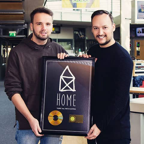 Gold for Home! Congrats to TOPIC and the whole team!