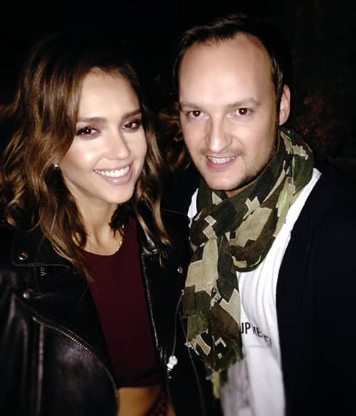 Jessica Alba & Felix in Los Angeles. No comment.